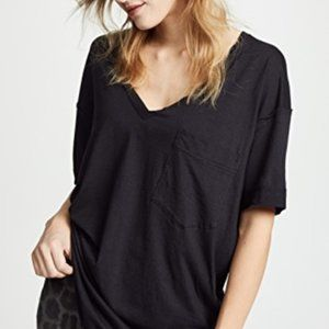 Free People Ronnie Oversize Tee Top Tunic. XS